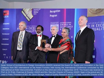 Award for Quality and Innovation